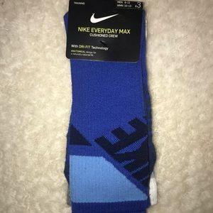 Blue Nike Socks 3 pack ⚡️
